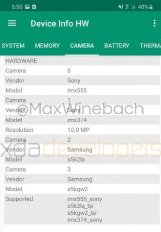 Samsung Galaxy S20+ camera features leak via screenshots