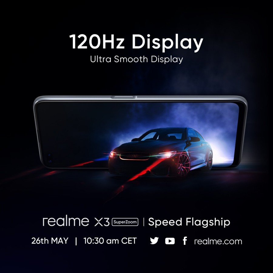 Realme Confirm Some Of The Specifications Of The Phone Realme X3