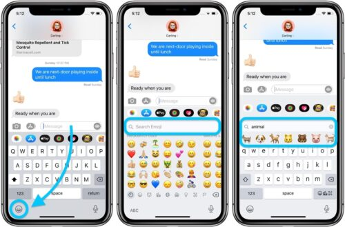 IOS 14 update - How to easily search for emoji on the keyboard!
