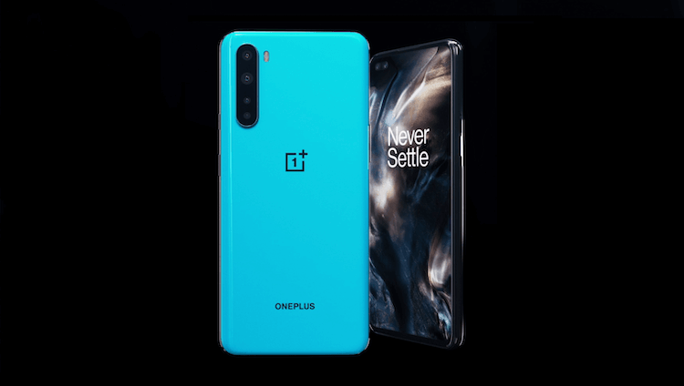 OnePlus Nord blue