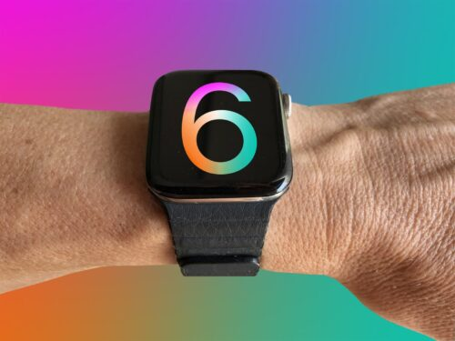 We hope to have a presence in the upcoming Apple Watch Series 6